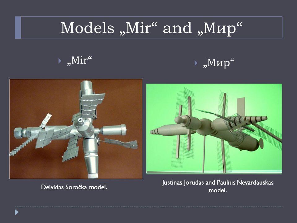 """Models """"Mir and """" Мир  """" Мир  """" М ir Deividas Soročka model."""