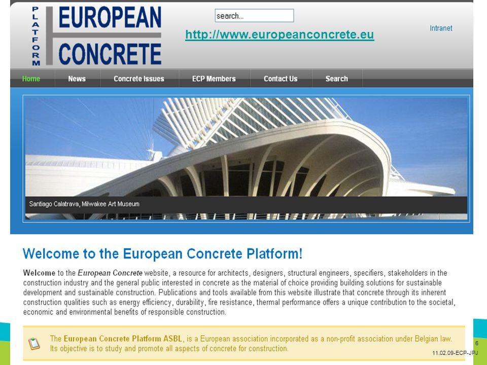 http://www.europeanconcrete.eu 6 11.02.09-ECP-JPJ