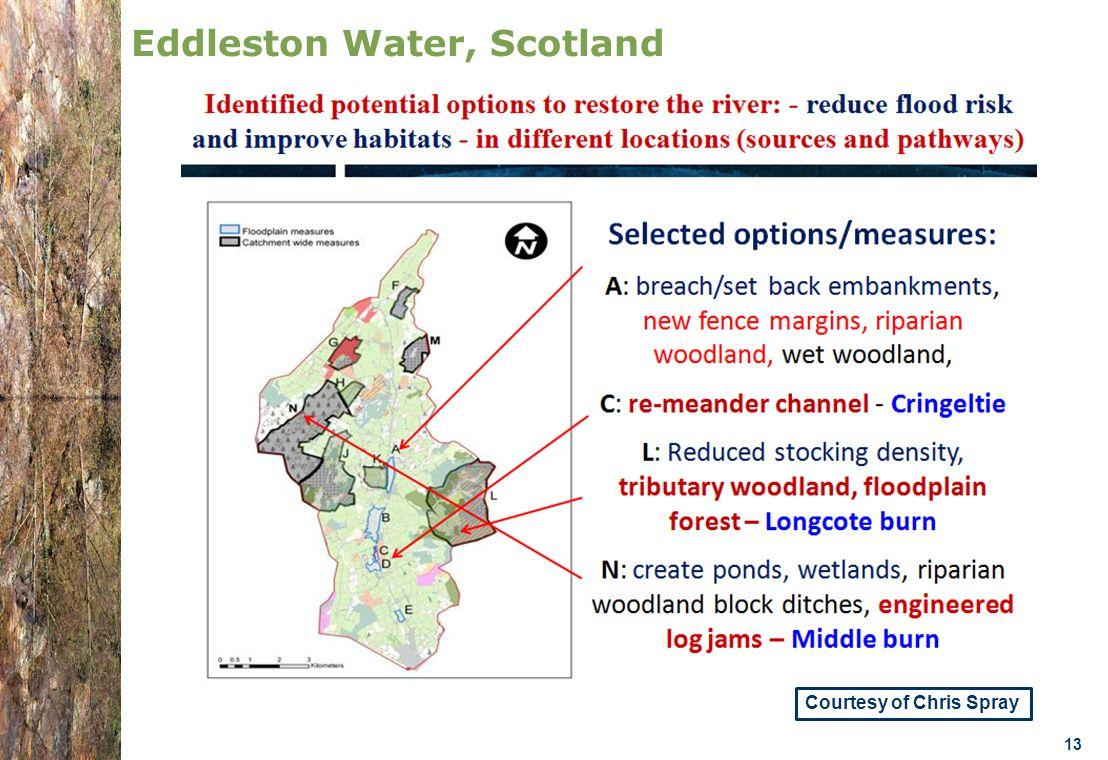 07.0330/2013/659147/SER/ENV.C1- DGENV – Brussels 22/01/14 n.amorsi@oieau.Fr 13 Eddleston Water, Scotland Courtesy of Chris Spray