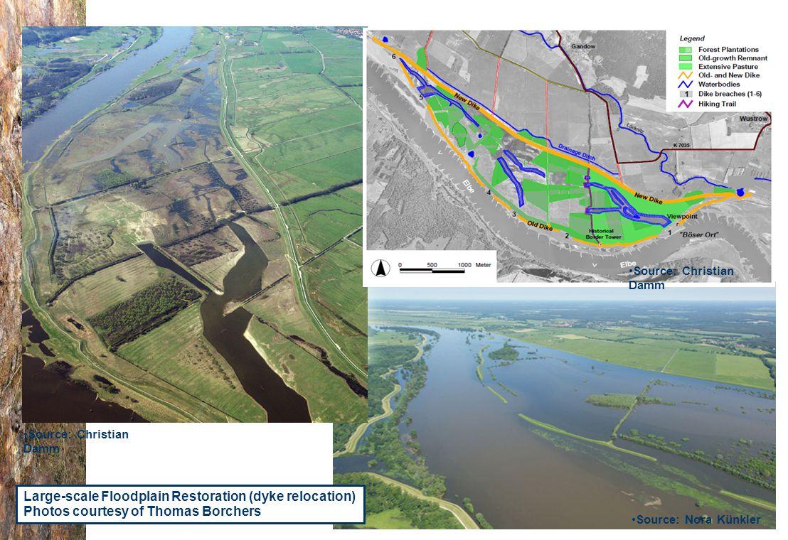 07.0330/2013/659147/SER/ENV.C1- DGENV – Brussels 22/01/14 n.amorsi@oieau.Fr Source: Nora Künkler Source: Christian Damm Large-scale Floodplain Restoration (dyke relocation) Photos courtesy of Thomas Borchers