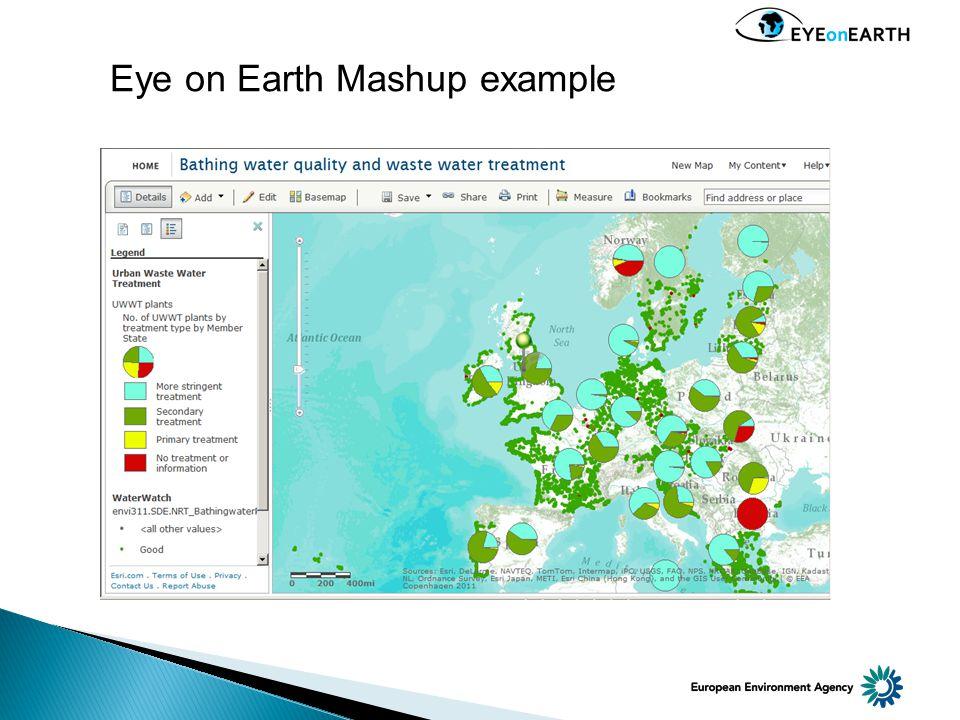 Eye on Earth Mashup example