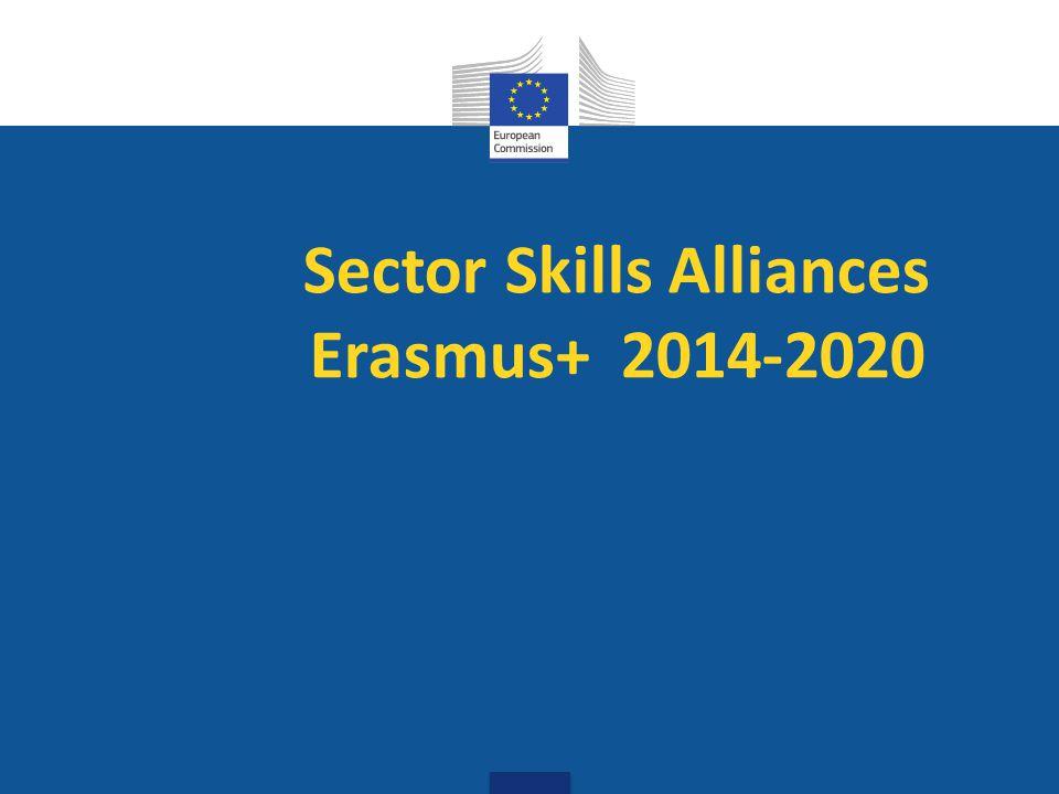 Sector Skills Alliances Erasmus+ 2014-2020