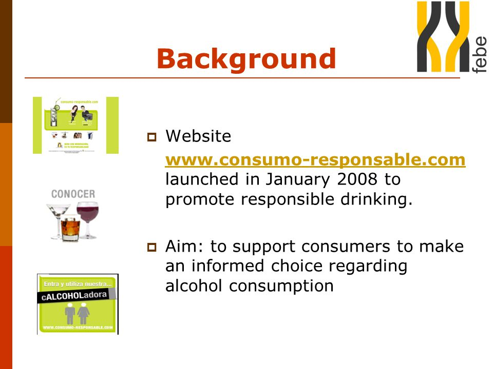 Evaluation  85% of consumers regarded the information positively important.