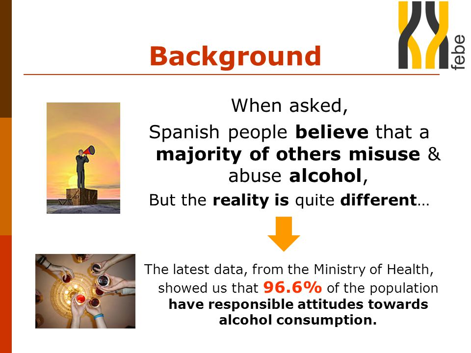 Objectives  To promote responsible attitudes towards alcohol consumption.