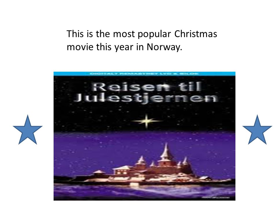 This is the most popular Christmas movie this year in Norway.