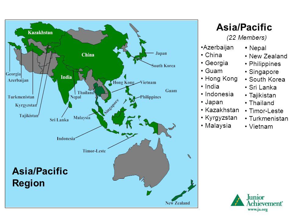 Asia/Pacific Region Asia/Pacific Azerbaijan China Georgia Guam Hong Kong India Indonesia Japan Kazakhstan Kyrgyzstan Malaysia (22 Members) Nepal New Z