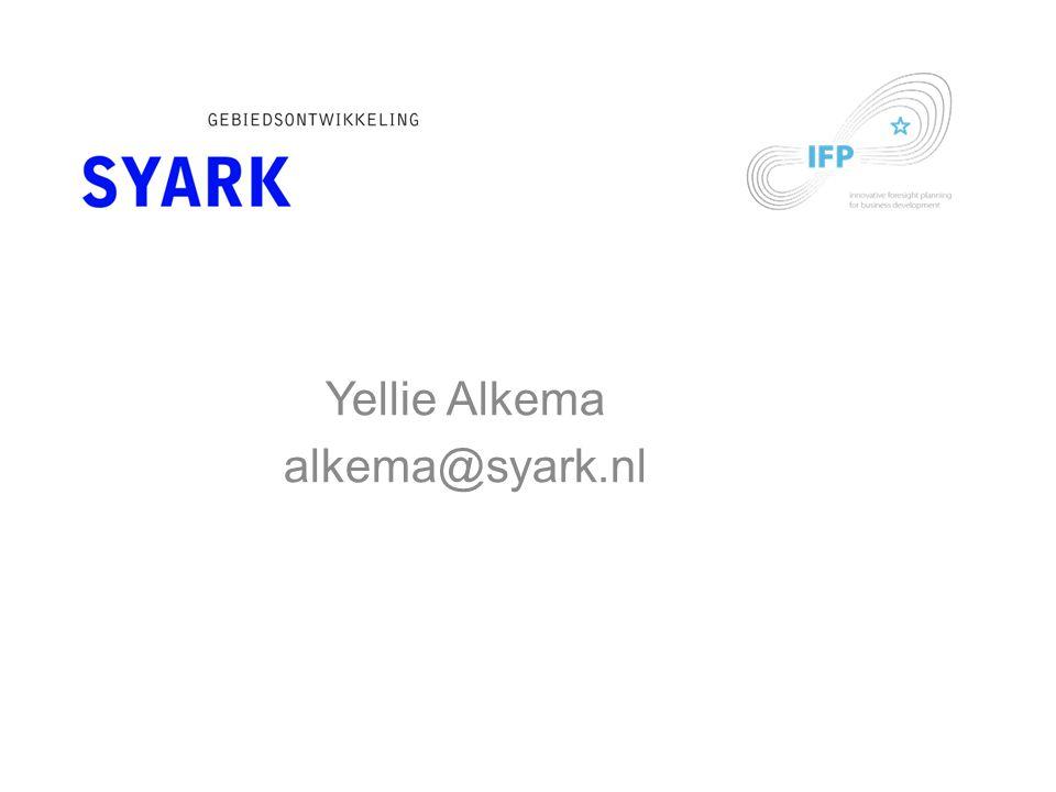 Yellie Alkema alkema@syark.nl