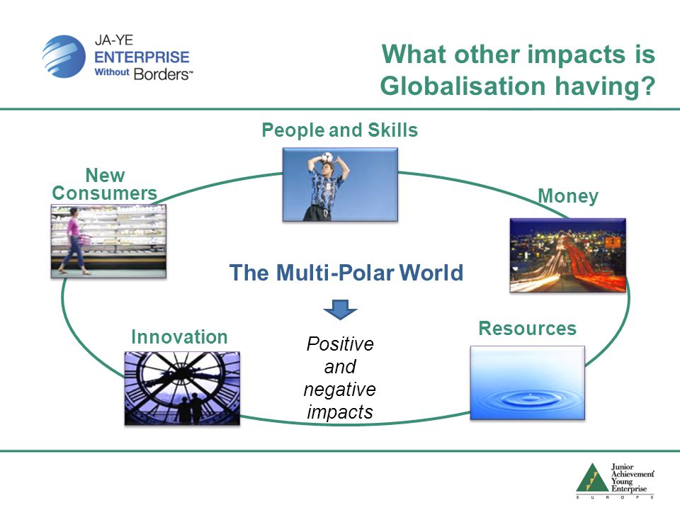 What other impacts is Globalisation having.