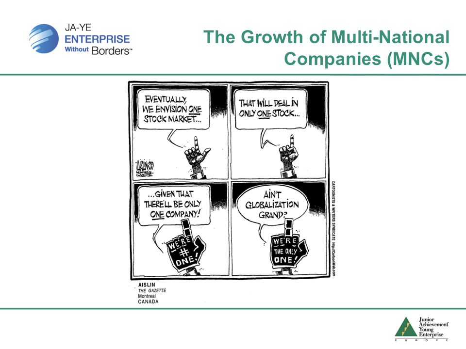 The Growth of Multi-National Companies (MNCs)