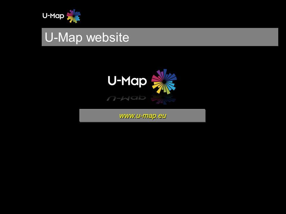 U-Map website www.u-map.eu