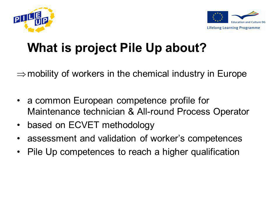 What is project Pile Up about.