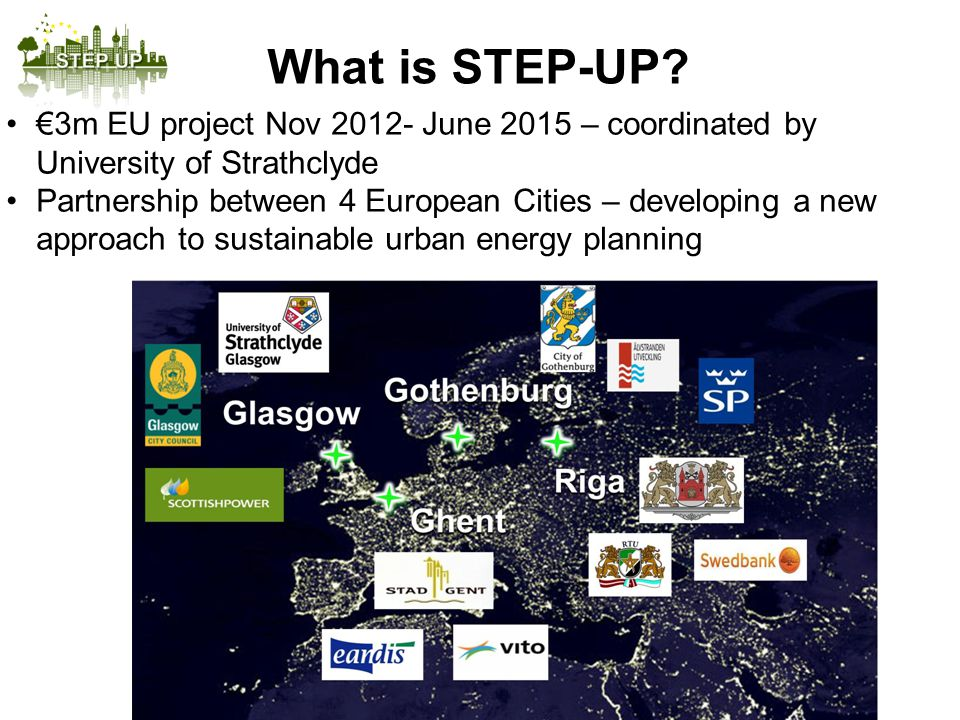 Page 4 Create a model for energy planning to deliver further/ greater impact on EU 2020 energy targets.