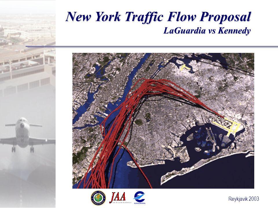 Reykjavik 2003 New York Traffic Flow Proposal LaGuardia vs Kennedy