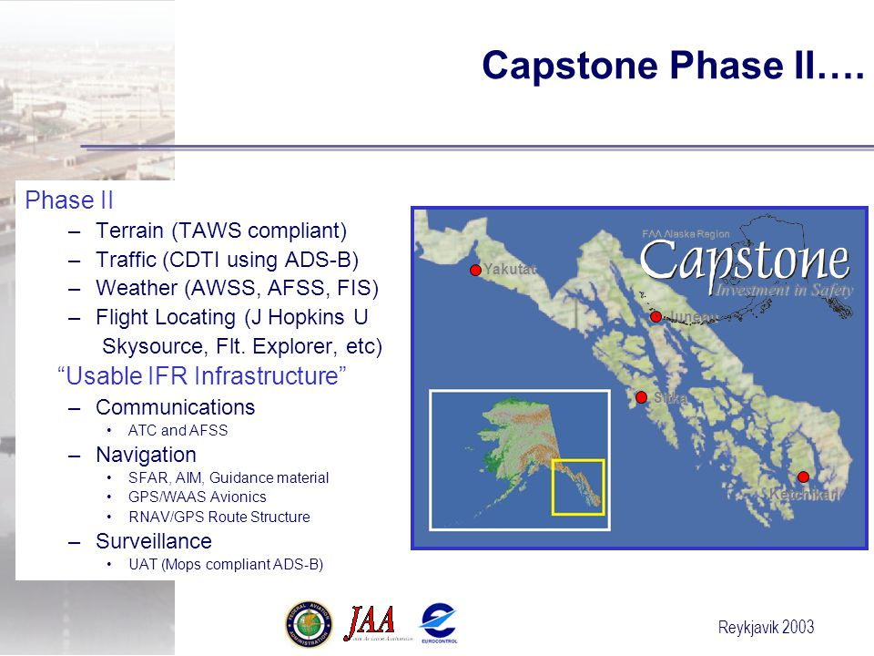 Reykjavik 2003 Capstone Phase II….