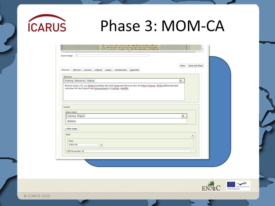 Phase 3: MOM-CA