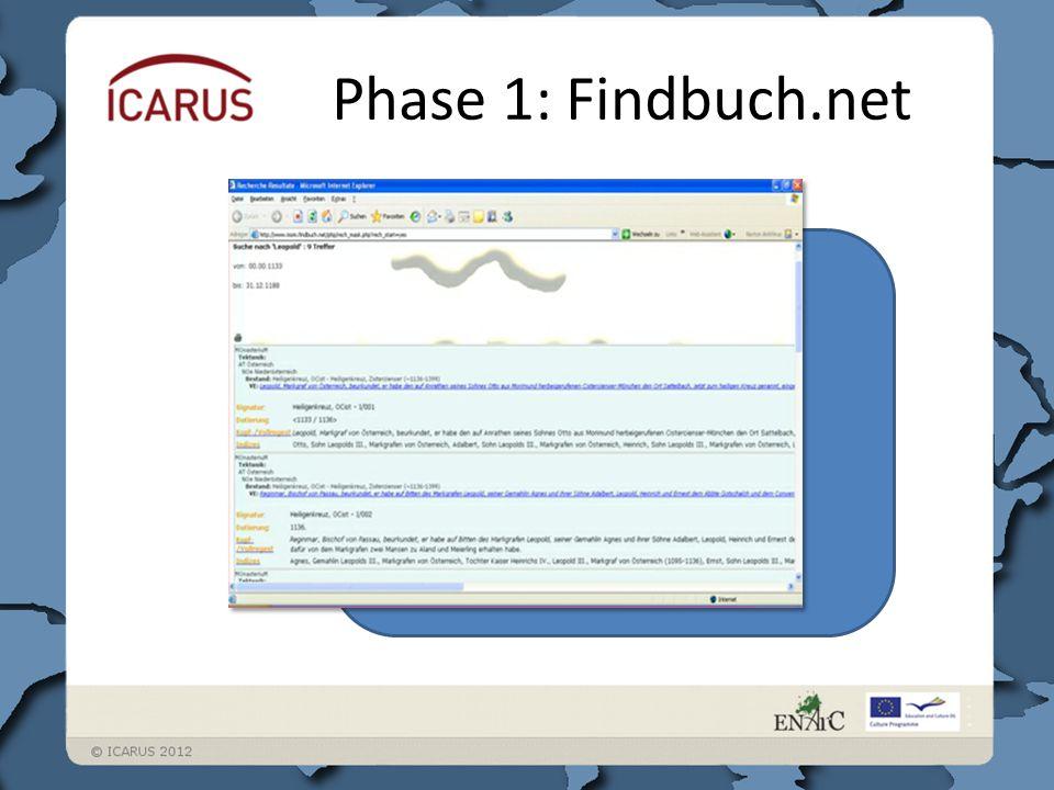 Phase 1: Findbuch.net