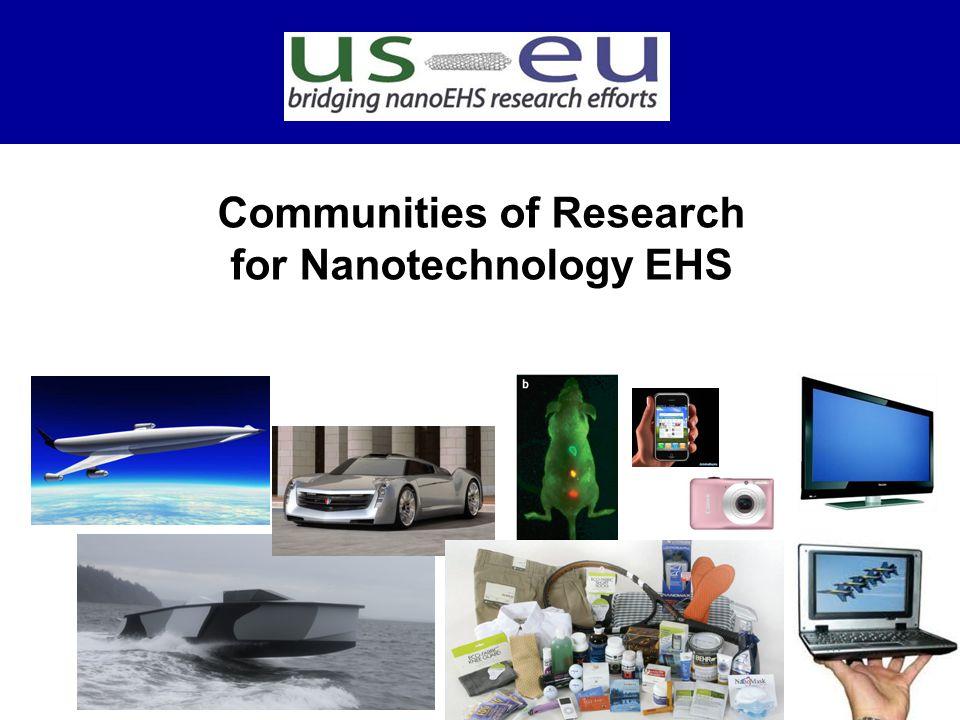 Communities of Research for Nanotechnology EHS