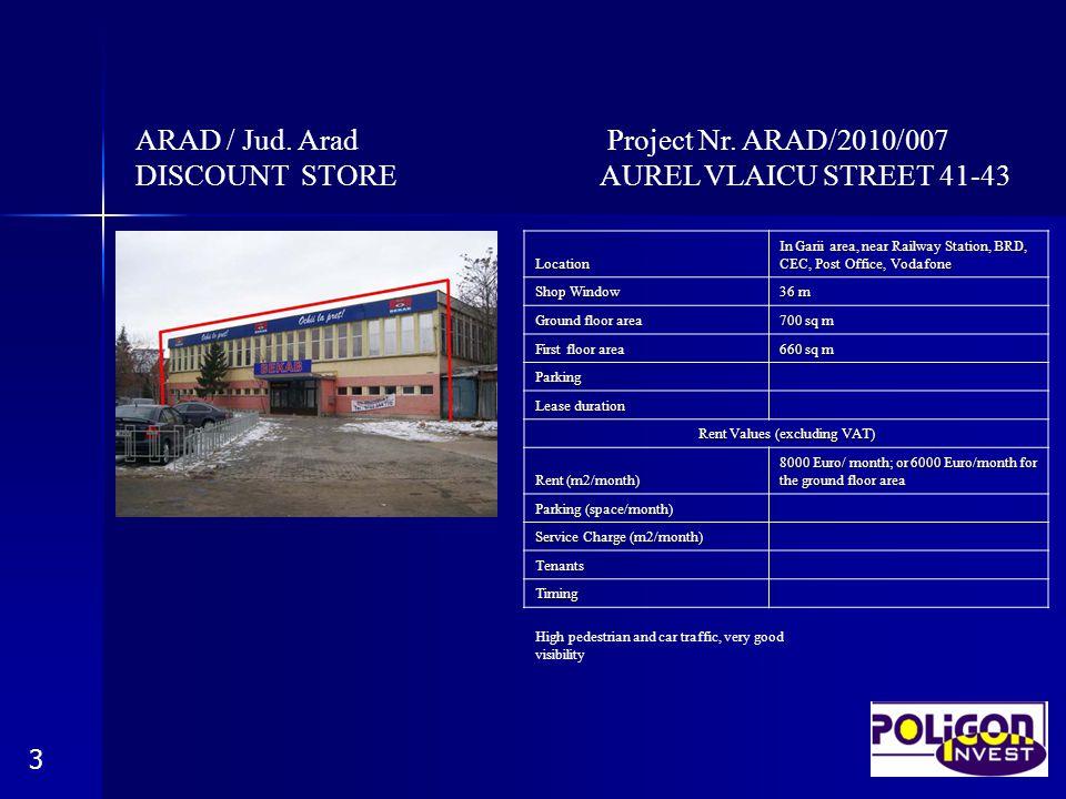 ARAD / Jud. Arad Project Nr.