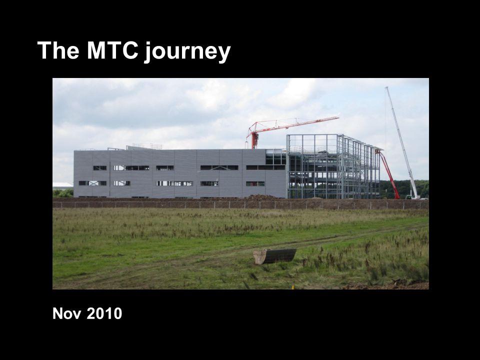 The MTC journey Nov 2010
