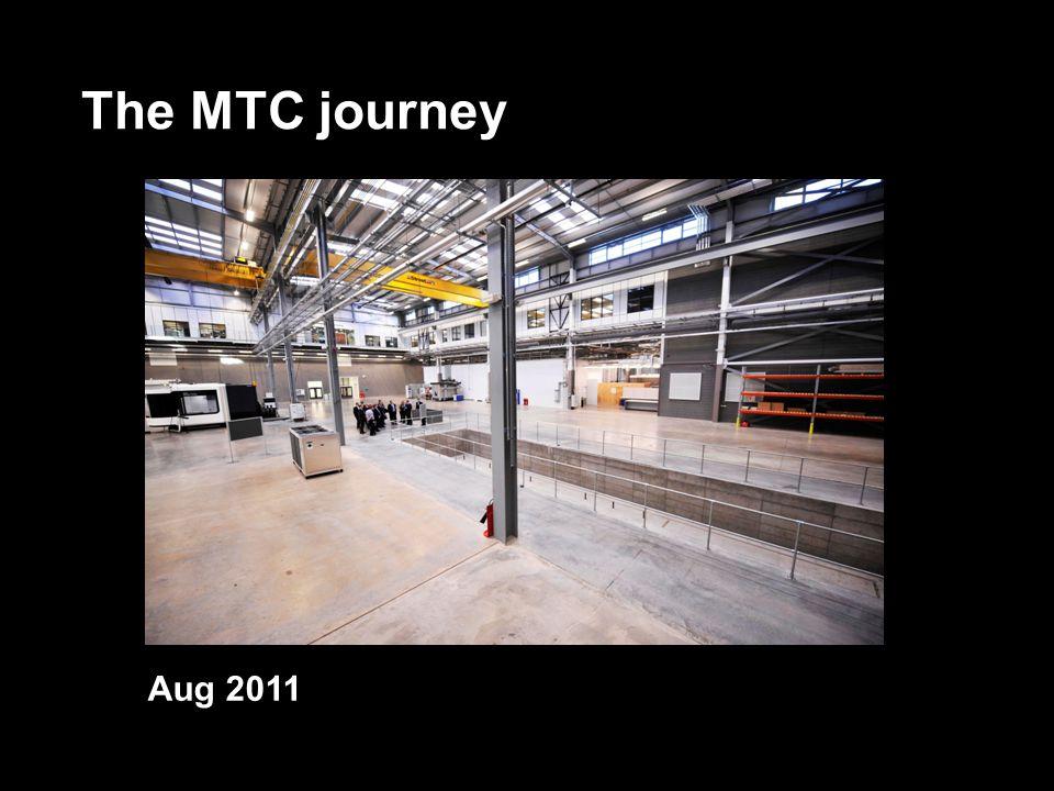 The MTC journey Aug 2011