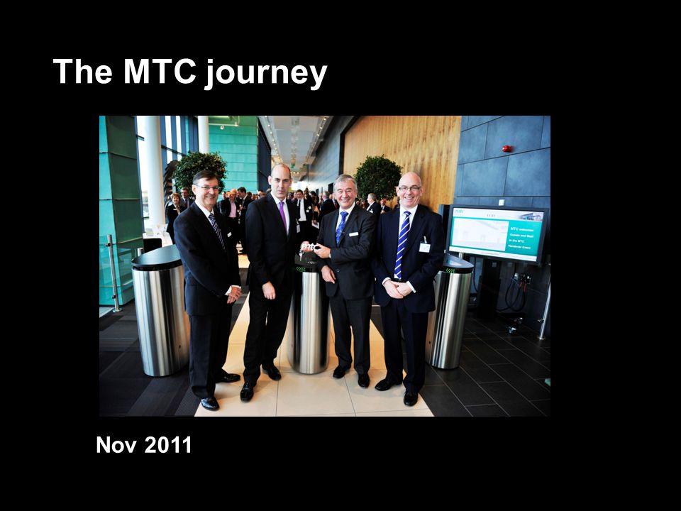The MTC journey Nov 2011