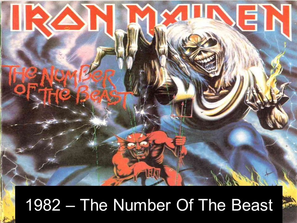 1982 – The Number Of The Beast