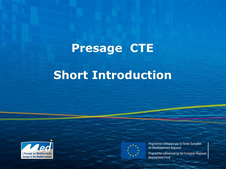 Presage CTE Short Introduction