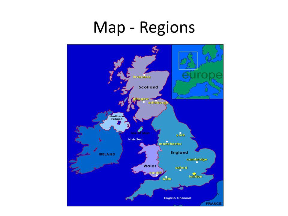 Map - Regions