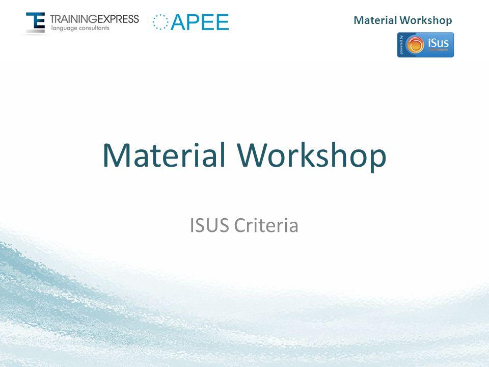 Material Workshop Syllabus Levels: Each language has 9 levels (L1 - L9).
