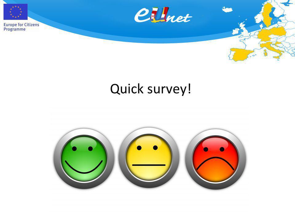 Quick survey!
