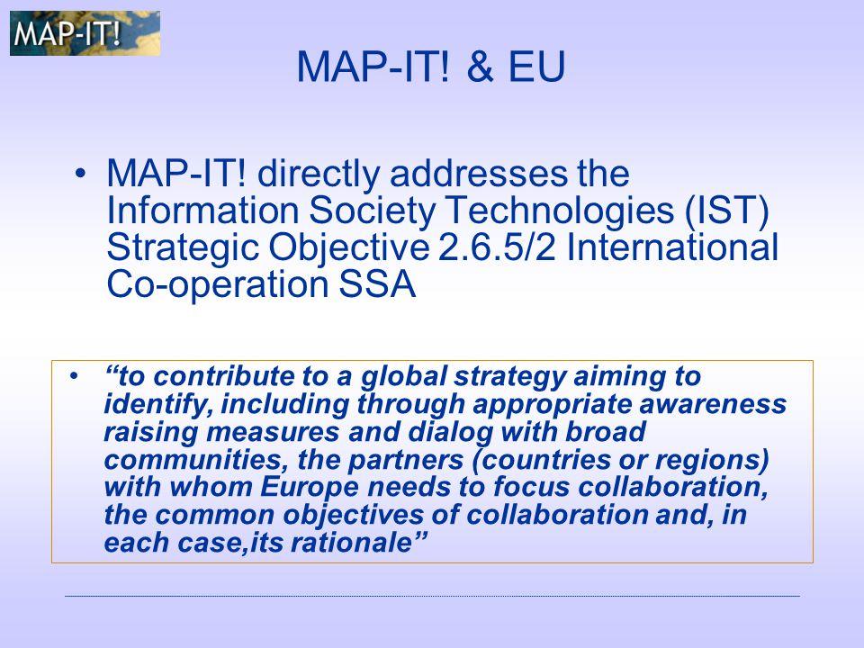 MAP-IT. & EU MAP-IT.