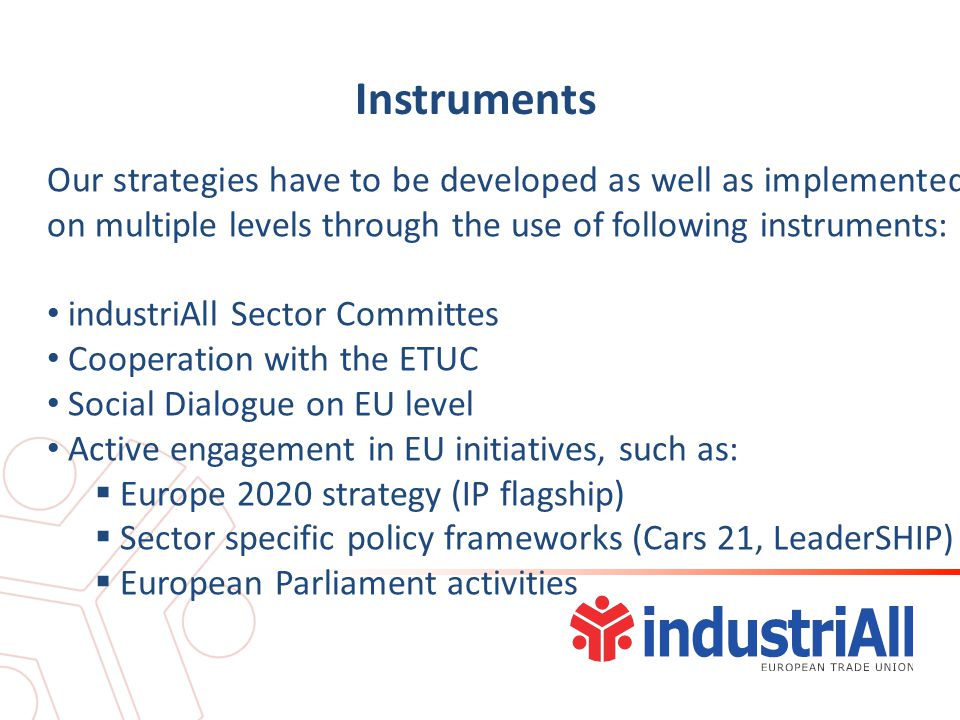 Road ahead Following events will highlight the further development of our IP strategy Action Day 8.