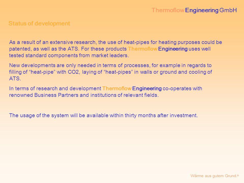 Thermoflow Engineering GmbH Wärme aus gutem Grund. ® Pictures