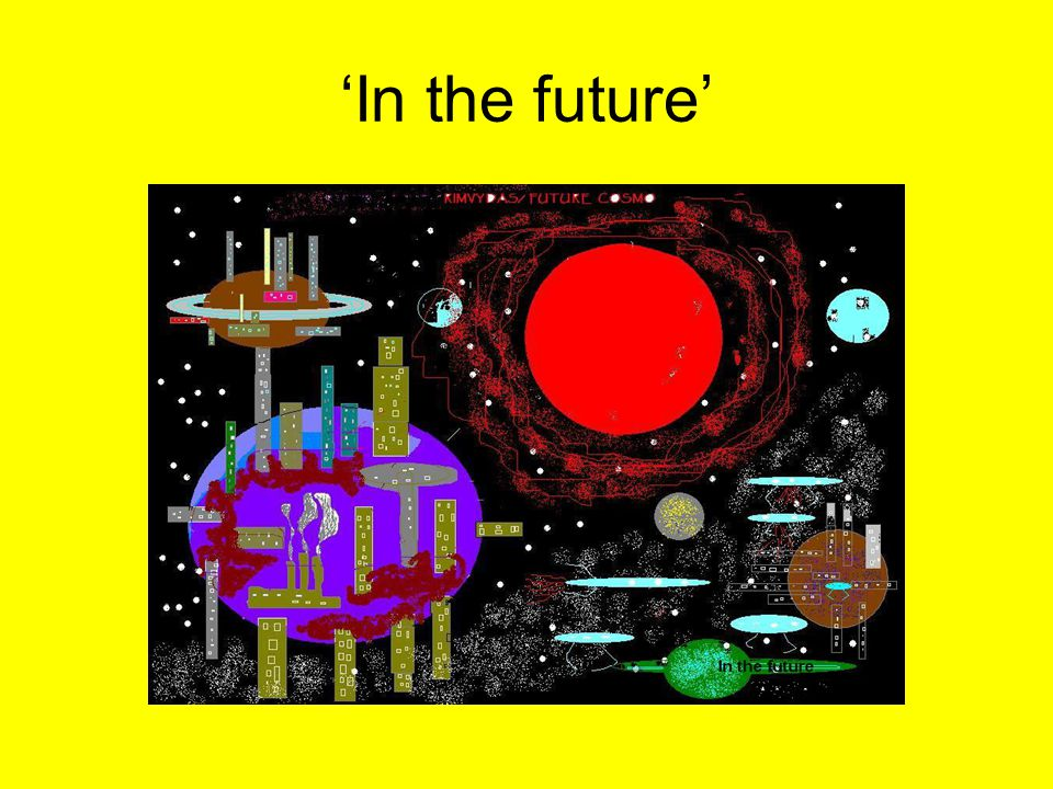 'In the future'