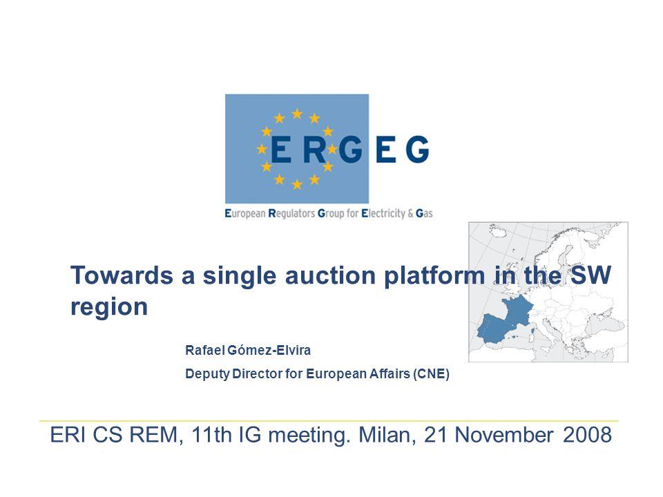 ERI CS REM, 11th IG meeting.