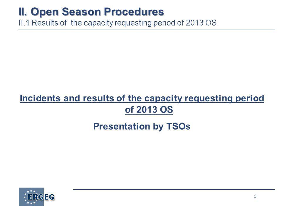 3 II. Open Season Procedures II.