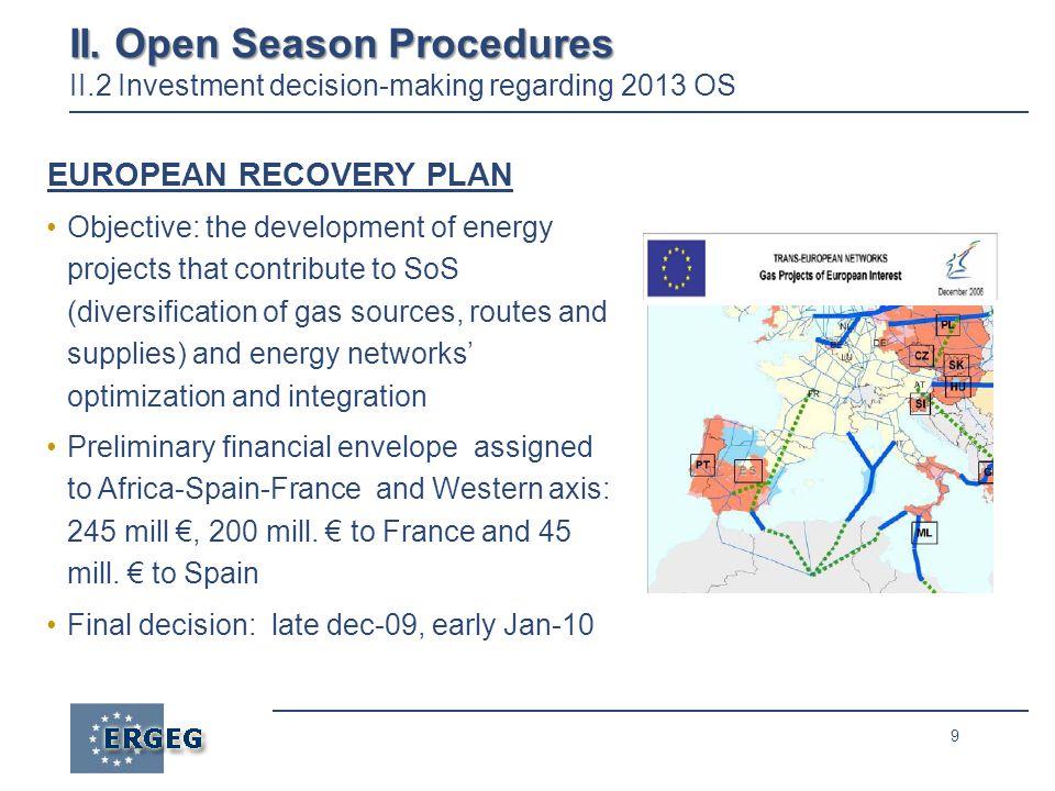 9 II. Open Season Procedures II.