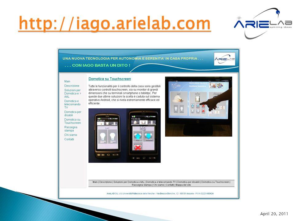 http://iago.arielab.com April 20, 2011