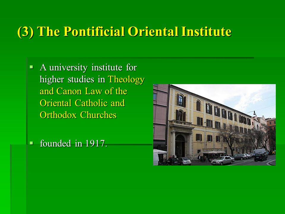 (4) Bellarmino  The Collegio S.