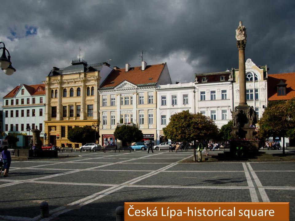 Česká Lípa-historical square By Kuba