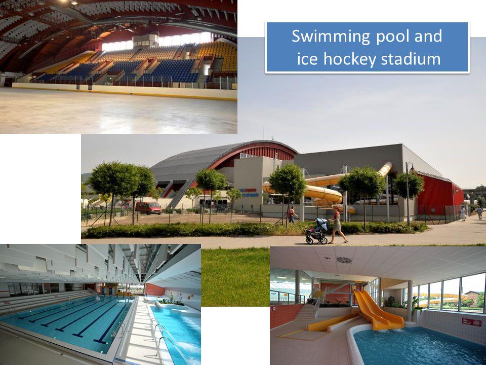Swimming pool and ice hockey stadium Swimming pool and ice hockey stadium