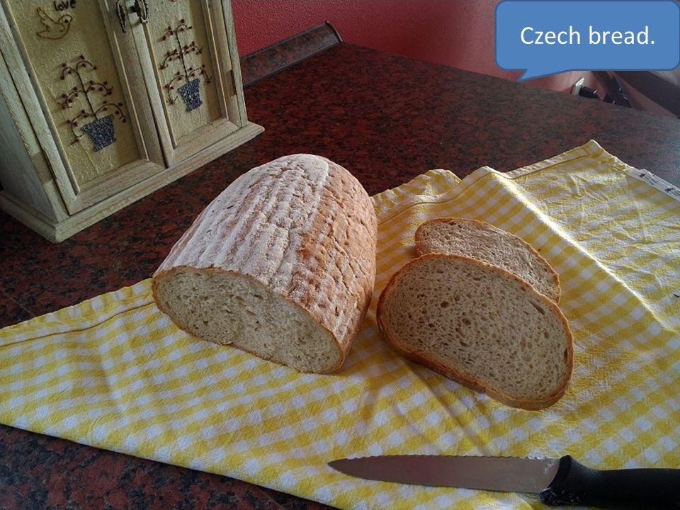 Czech bread.