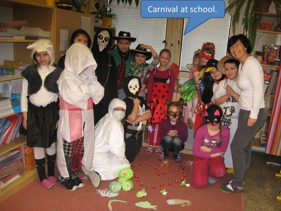 Carnival at school.