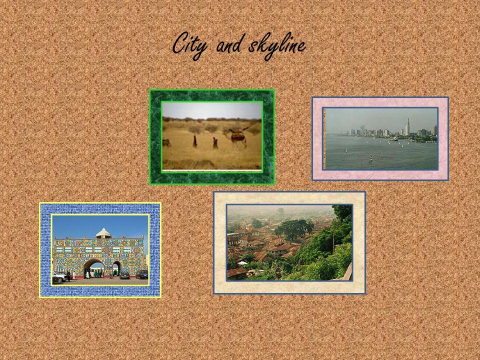 City and skyline
