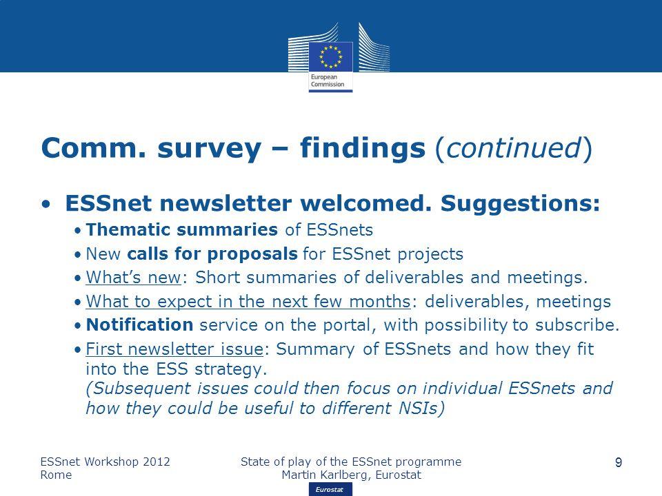 Eurostat Comm.
