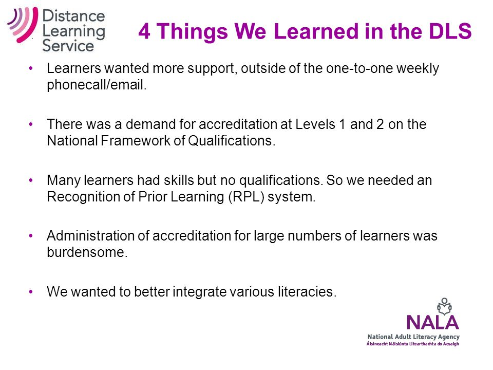 Web-based learning – a natural fit....