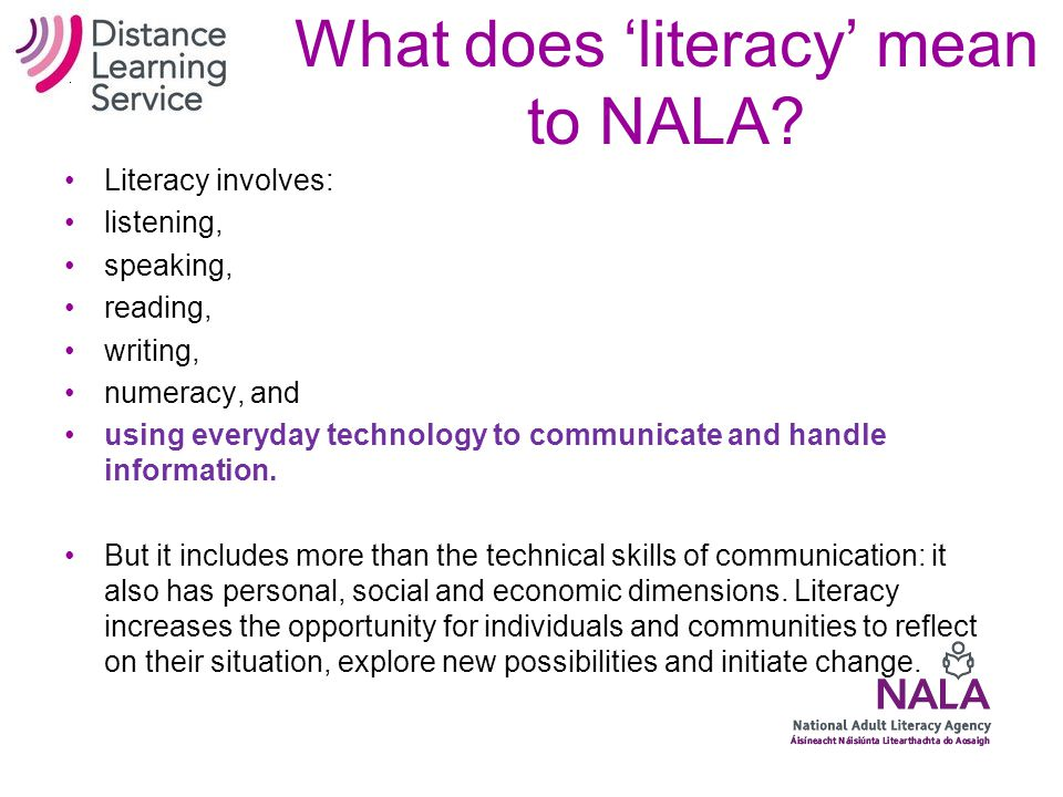Why we use Distance Learning in Ireland...