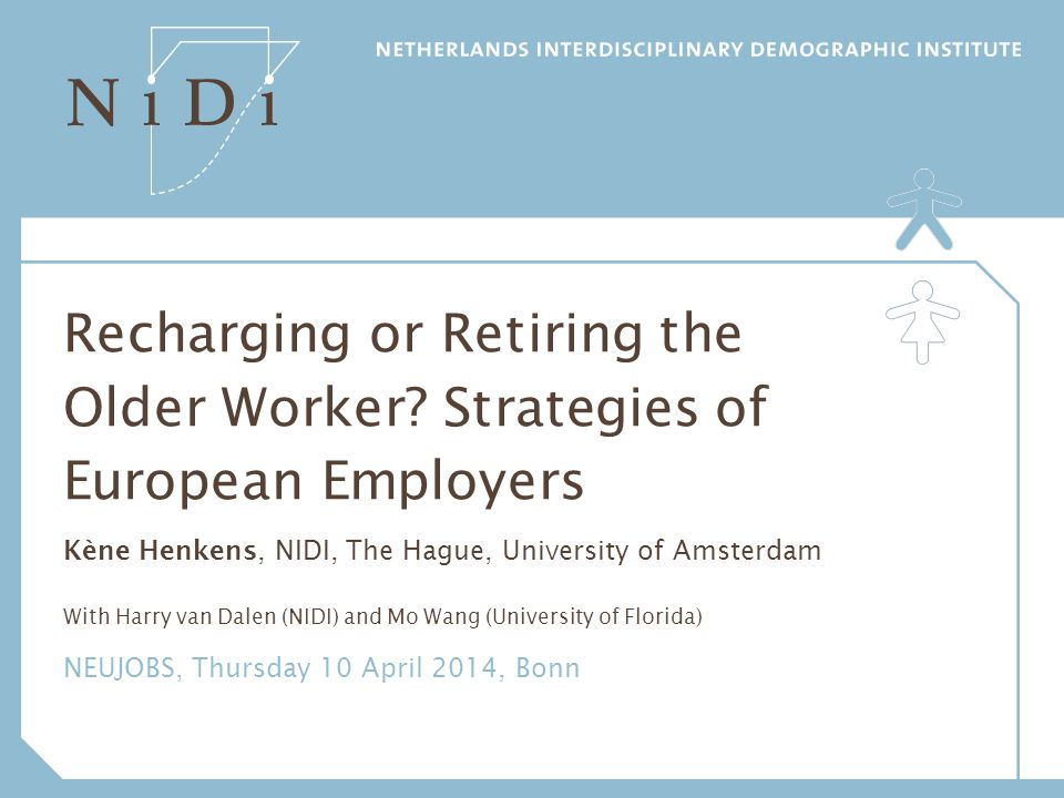 CENTRAL RESEARCH QUESTION Which types of age-based HR strategies do employers actually use.