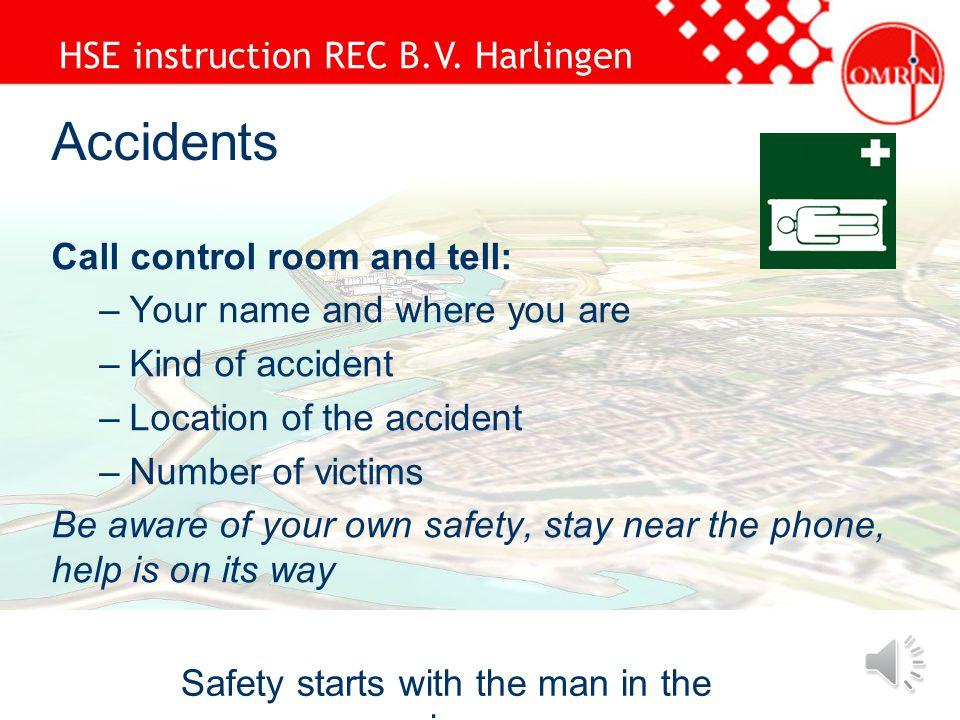 HSE instruction REC B.V.