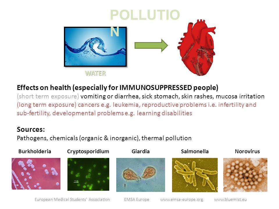 AIR AIR POLLUTANTS HEALTH PROBLEMS Chr.Pulmonary Obstructive Disease (RESP.